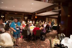 Good crowd at the TKGA Yarn Tasting Party